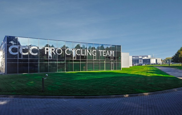 CCC Cycling Team Headquarters