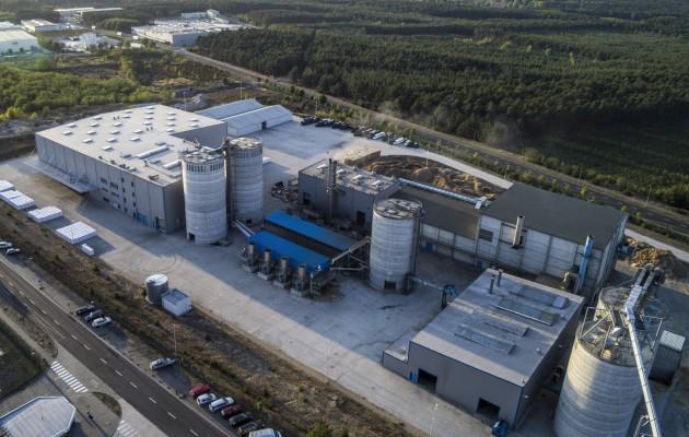 Stelmet Pellet Fuel Factory